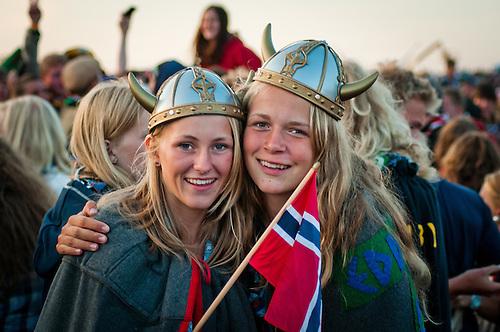 At the Cultural Festival Show. Photo: Malin Huusmann / Scouterna
