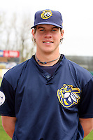 April 11 2010: Wil Myers of the Burlington Bees. The Bees are the Low A affiliate of the Kansas City Royals. Photo by: Chris Proctor/Four Seam Images