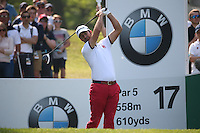 Jorge Campillo (ESP) during Round Three of the 2016 BMW PGA Championship over the West Course at Wentworth, Virginia Water, London. 28/05/2016. Picture: Golffile   David Lloyd. <br /> <br /> All photo usage must display a mandatory copyright credit to © Golffile   David Lloyd.