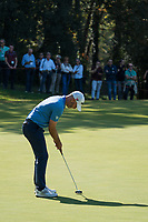 Paul Waring (ENG) in action on the 2nd hole during the third round of the 76 Open D'Italia, Olgiata Golf Club, Rome, Rome, Italy. 12/10/19.<br /> Picture Stefano Di Maria / Golffile.ie<br /> <br /> All photo usage must carry mandatory copyright credit (© Golffile | Stefano Di Maria)