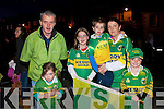 9900: TJ , Ciara, Joey & Mags Galvin and in front Keelin & Eoin Galvin from Mountcoal..