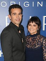 LOS ANGELES, CA - SEPTEMBER 12: Rey Lucas, Flora Diaz, at the premiere of Hulu's original drama series, The First at the California Science Center in Los Angeles, California on September 12, 2018. <br /> CAP/MPI/FS<br /> &copy;FS/MPI/Capital Pictures