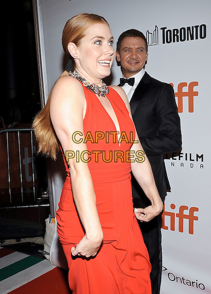 12 September 2016 - Toronto, Ontario Canada - Amy Adams, Jeremy Renner. &quot;Arrival&quot; Premiere during the 2016 Toronto International Film Festival held at Roy Thomson Hall. <br /> CAP/ADM/BPC<br /> &copy;BPC/ADM/Capital Pictures
