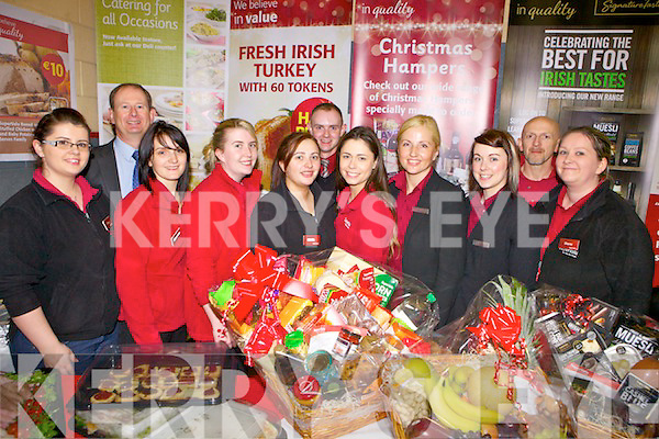 Pictured last Thursday night in Abbeyfeale for the inaugural Fealside Expo in Fr Casey's Sports Comple, Abbeyfeale, l-r: Elise Stack, Michael Twohig, Melissa Wren, Laura Buck, Ann Walsh, Michael Cotter, Brenda Sheehan, Remune Zilliene, Lisa Cullinane, Mike Foley and Diane O'Connor