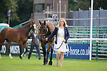 Imogen Murray during the First Vets Inspection at the 2014 Land Rover Burghley Horse Trials held at Burghley House, Stamford, Lincolnshire