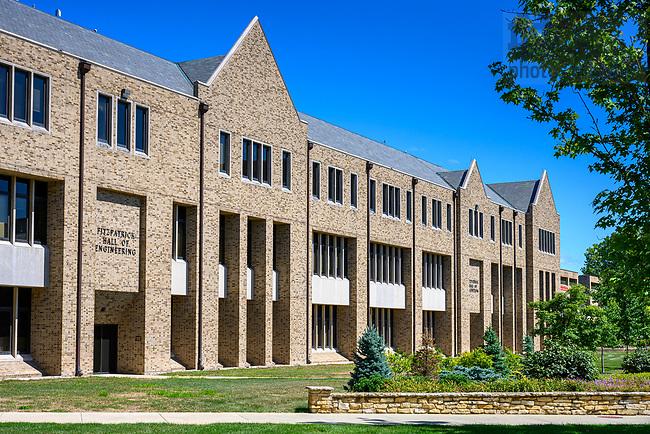 August 24, 2019; Fitzpatrick Hall of Engineering (Photo by Matt Cashore/University of Notre Dame)