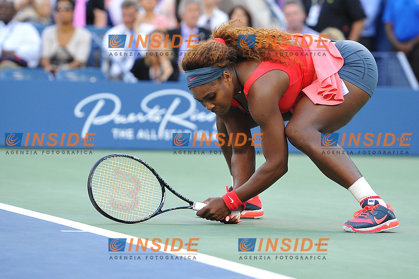 Serena Williams (USA) <br /> Flushing Meadows 08/09/2013<br /> Tennis US Open Finale Donne <br /> Foto Panoramic / Insidefoto<br /> ITALY ONLY