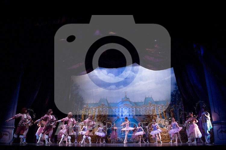 31.07.2012. Press Pass at the Teatro Compac Gran Via in Madrid of ´Sleeping Beauty´ performed by the Moscow City Ballet. The company, one of the most serious and substantial in Europe, says goodbye and Spain. The event counted with the assistance of producer Tatiana Solovieva and the soloists and leading figures Orekhova Lilia, Alevtina Lapshina, Talgat Koshabaev and Daniil Orlov. (Alterphotos/Marta Gonzalez)