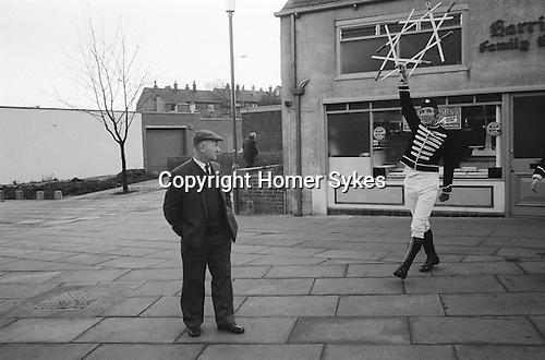 Handsworth Sword Dance Play. Handsworth, Yorkshire England 1976