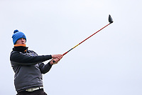 Jack McDonnell (Forest Little) during the 3rd round of matchplay at the 2018 West of Ireland, in Co Sligo Golf Club, Rosses Point, Sligo, Co Sligo, Ireland. 02/04/2018.<br /> Picture: Golffile | Fran Caffrey<br /> <br /> <br /> All photo usage must carry mandatory copyright credit (&copy; Golffile | Fran Caffrey)