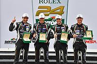 #11 GRT GRASSER RACING TEAM (DEU) LAMBORGHINI HURACAN GT3 GTD ROLF INEICHEN (CHE) MIRKO BORTOLOTTI (ITA) CHRISTIAN ENGELHART (DEU) RIK BREUKERS (NLD) WINNER GTD
