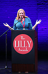 Kelda Roys on stage during the 9th Annual LILLY Awards at the Minetta Lane Theatre on May 21,2018 in New York City.