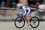 May 25, 2008:   French cycling legend, Jeannie Longo competes in the Morehart Suburu Criterium at the 2008 Ironhorse Bicycle Classic, Durango, Colorado. ..