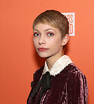 """Tavi Gevinson attends the After Party for the Second Stage Production of """"Days Of Rage"""" at Churrascaria Platforma on October 30, 2018 in New York City."""
