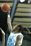 25 November 2012: North Carolina's N'Dea Bryant. The University of North Carolina Tar Heels played the UNC Asheville Bulldogs at Carmichael Arena in Chapel Hill, North Carolina in an NCAA Division I Women's Basketball game. UNC won the game 101-42.