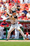 30 June 2005: Jack Wilson, shortstop for the Pittsburgh Pirates, at bat during a game against the Washington Nationals. The Nationals defeated the Pirates 7-5 to sweep the 3-game series at RFK Stadium in Washington, DC.  Mandatory Photo Credit: Ed Wolfstein