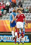 Kirsten van den Ven, Maiken Pape, Women's EURO 2009 in Finland.Denmark-Netherlands, 08292009, Lahti Stadium