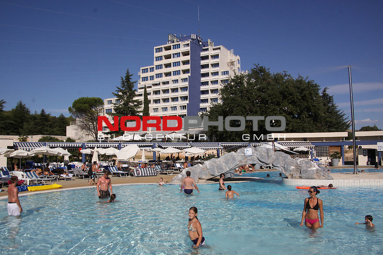 29.08.2012., Porec, Croatia - Coach of the Russian women's teams Sergei Ovcinkov was found hanged in his room on the 4th floor at the Diamond Hotel. <br /> <br /> Foto &copy;  nph / PIXSELL / Dusko Marusic