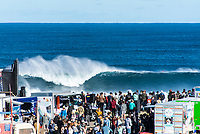 MARGARET RIVER, Western Australia/AUS (Sunday, April 9, 2017) - The final day of competition at the Drug Aware Margaret River Pro, Stop No. 2 of the World Surf League (WSL) Championship Tour (CT), commenced with the men&rsquo;s Quarterfinals, Semifinals and Final called ON for a 7:05 a.m. start. The remaining competitors battled it out in clean six-to-eight foot plus (2 - 2.5 metre) waves at Main Break.<br /> With John John Florence already through to the final a shark scare put the contest on hold during the second semi final between Filipe Toledo (BRA) and Kolohe Andino (USA).<br />  <br /> Photo: joliphotos.com