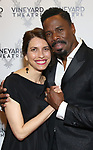 Sarah Stern and Colman Domingo attends the Vineyard Theatre Gala honoring Colman Domingo at the Edison Ballroom on May 06, 2019 in New York City.