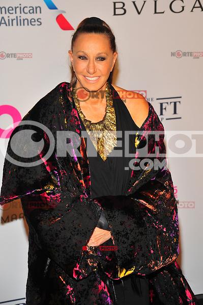 NEW YOKR, NY - NOVEMBER 7: Donna Karan at The Elton John AIDS Foundation's Annual Fall Gala at the Cathedral of St. John the Divine on November 7, 2017 in New York City. Credit:John Palmer/MediaPunch /NortePhoto.com