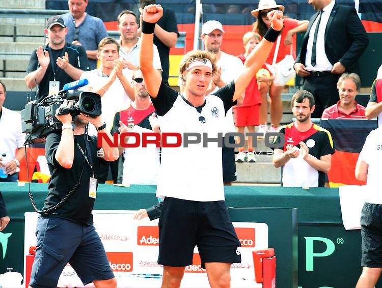 16.09.2016, LTTC Rot-Weiss-Berlin, Berlin, GER, Davis Cup, Deutschland vs. Polen, , im Bild <br /> Jan-Lennard Struff (GER)<br /> <br /> <br />      <br /> Foto &copy; nordphoto / Engler