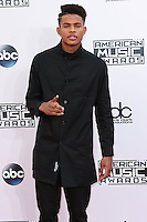 LOS ANGELES, CA, USA - NOVEMBER 23: Luke James arrives at the 2014 American Music Awards held at Nokia Theatre L.A. Live on November 23, 2014 in Los Angeles, California, United States. (Photo by Xavier Collin/Celebrity Monitor)