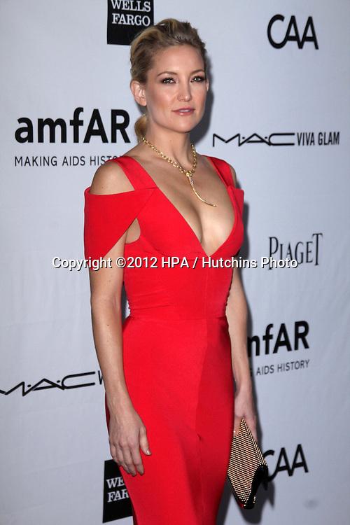 LOS ANGELES - OCT 11:  Kate Hudson arrives at the amfAR Inspiration Gala Los Angeles at Milk Studios on October 11, 2012 in Los Angeles, CA