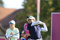 Mo Martin (USA) tees off the 6th tee during Thursday's Round 1 of The Evian Championship 2018, held at the Evian Resort Golf Club, Evian-les-Bains, France. 13th September 2018.<br /> Picture: Eoin Clarke | Golffile<br /> <br /> <br /> All photos usage must carry mandatory copyright credit (© Golffile | Eoin Clarke)