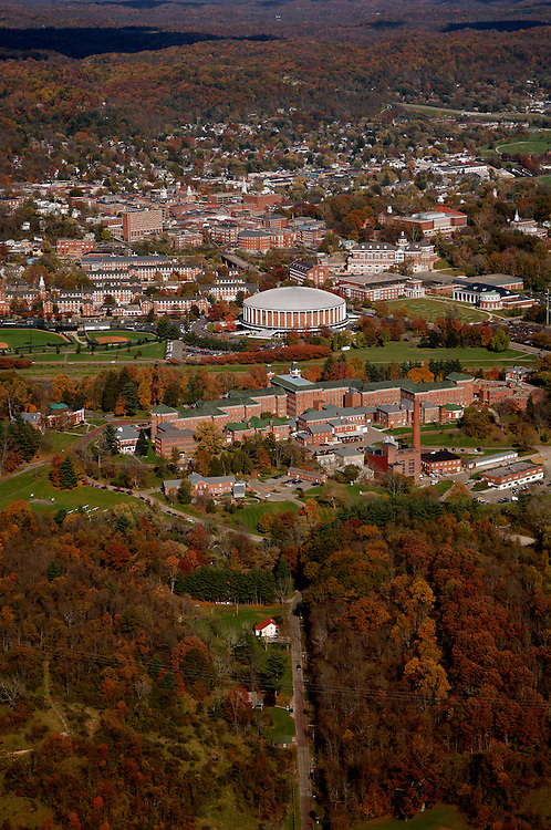 Aerial view of Ohio University. © Ohio University