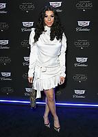 06 February 2020 - Los Angeles - Hailie Sahar. Cadillac Celebrates The 92nd Annual Academy Awards held at Chateau Marmont. Photo Credit: Birdie Thompson/AdMedia
