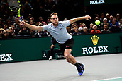 5th November 2017, Paris, France. Rolex Masters mens tennis tournament final;  Jack Sock (USA) winner of the mens singles final