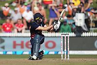New Zealand Blackcaps v England. One Day International Cricket. Seddon Park, Hamilton, New Zealand on Sunday 25 February 2018.<br /> <br /> Copyright photo: &copy; Bruce Lim / www.photosport.nz