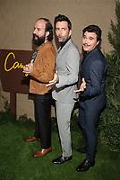 HOLLYWOOD, CA - OCTOBER 10: Brett Gelman, David Tennant, Arturo Del Puerto, at The Los Angeles Premiere of HBO's Camping at Paramount Studios in Hollywood, California on October 10, 2018. Credit: Faye Sadou/MediaPunch