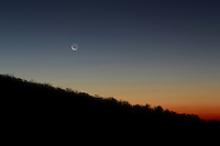 Moonrise in Nelson County, VA. Photo/Andrew Shurtleff