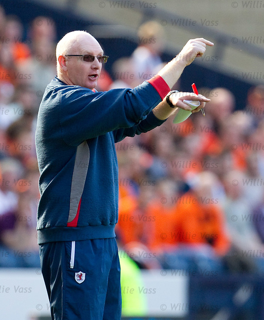 John McGlynn shuffles his Raith side