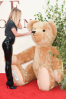 Kimberley Garner at the World Premiere of &quot;Goodbye Christopher Robin&quot; at the Odeon Leicester Square, London, UK. <br /> 20 September  2017<br /> Picture: Steve Vas/Featureflash/SilverHub 0208 004 5359 sales@silverhubmedia.com