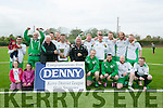 Winners Tralee Celtic of the Denny Division 1B League Final Tralee Celtic v Athletico Ardfert on Sunday