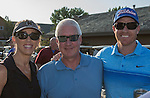 Kris Sutton, Fred Courrier and Gregg Sutton at the Microsoft 8th Annual Charity Golf Tournament held at Red Hawk Golf and Resort in Sparks on Friday, August 19, 2016.