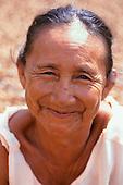 Altamira, Amazon, Brazil. Dona Xipaya, a Xipaya Indian woman.