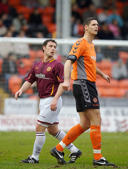 Lee Wilkie, Dundee Utd.stock season 2006-2007.pic willie vass