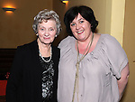 Olive Gallagher from Slane celebrating her 80th birthday in the Star and Crescent with Mary Breen. Photo: Colin Bell/pressphotos.ie