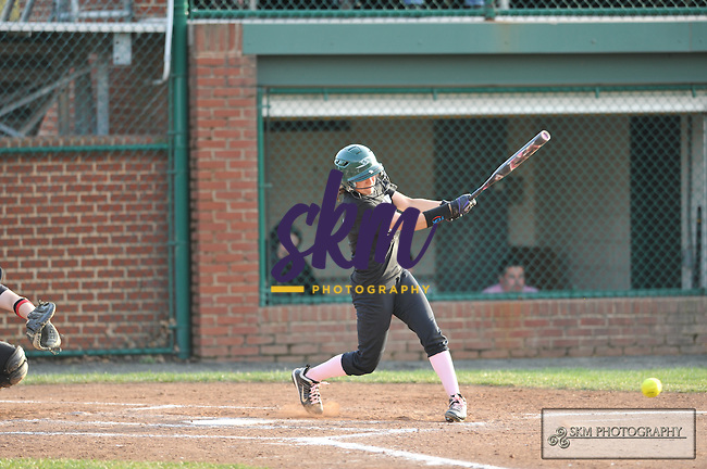The Mustangs softball team split a double header with the Frostburg Bobcats; dropping the first game 5-1 and winning the second game 3-1.