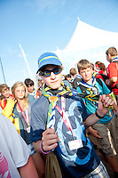 From the cultural festival show. Photo: Christoffer Munkestam/Scouterna
