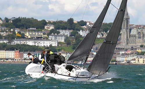 Cruiser racing in Cork Harbour