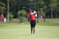 Katherine Kirk (AUS) in action on the 11th during Round 1 of the HSBC Womens Champions 2018 at Sentosa Golf Club on the Thursday 1st March 2018.<br /> Picture:  Thos Caffrey / www.golffile.ie<br /> <br /> All photo usage must carry mandatory copyright credit (&copy; Golffile | Thos Caffrey)