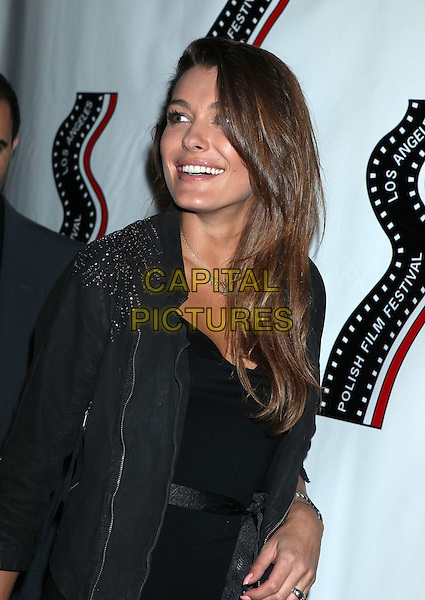 Natalia Tarnowska<br /> 13th annual Polish film festival at American Cinematheque's Egyptian Theatre, Hollywood, California, USA.<br /> 9th October 2012<br /> half length black jacket <br /> CAP/ADM/RE<br /> &copy;Russ Elliot/AdMedia/Capital Pictures