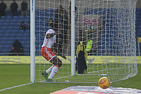 Blackpool's Sessi D'Almeida misses from close range<br /> <br /> Photographer Mick Walker/CameraSport<br /> <br /> The EFL Sky Bet League One - Oxford United v Blackpool - Saturday 6th January 2018 - Kassam Stadium - Oxford<br /> <br /> World Copyright &copy; 2018 CameraSport. All rights reserved. 43 Linden Ave. Countesthorpe. Leicester. England. LE8 5PG - Tel: +44 (0) 116 277 4147 - admin@camerasport.com - www.camerasport.com
