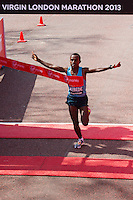 London Marathon 2013 finish