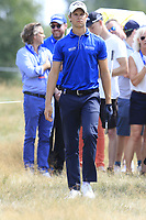 Thomas Detry (BEL) in the rough on the 18th hole during Saturday's Round 3 of the Porsche European Open 2018 held at Green Eagle Golf Courses, Hamburg Germany. 28th July 2018.<br /> Picture: Eoin Clarke | Golffile<br /> <br /> <br /> All photos usage must carry mandatory copyright credit (&copy; Golffile | Eoin Clarke)